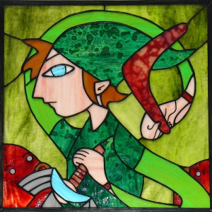 Glass art work